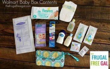 FREE Walmart Baby Box!