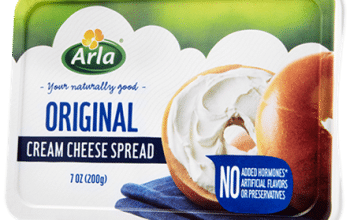 FREE Arla Cream Cheese (coupon)