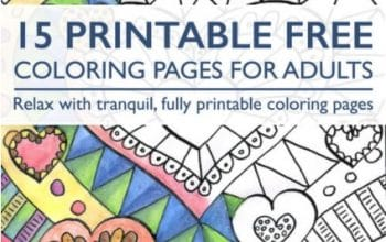 FREE Printable Coloring Pages for Adults eBook