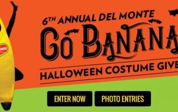 """*Ends Today* Del Monte """"Go Banana"""" Halloween Costume Giveaway (Ends 9/30)"""