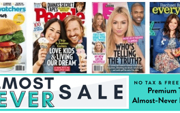 DiscountMags Almost Never Sale