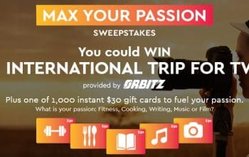 """Maxwell House """"Max Your Passion"""" Sweepstakes and Instant Win Game (Ends 11/30)"""