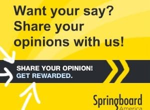 Springboard America: Earn Survey Dollars + Sweepstakes Entry