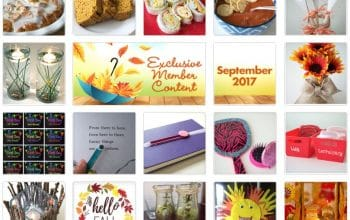 FREE Fall Crafts and Recipes