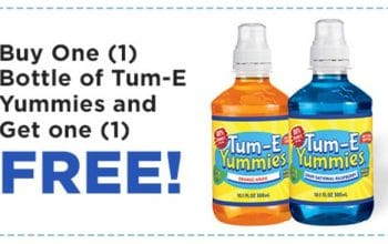 Buy One Get One FREE Tum-E Yummies Coupon