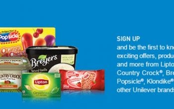 Exciting Offers from Breyers, Lipton Tea, Popsicle and More!