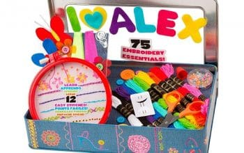 ALEX Toys My Embroidery Kit Only $10.50! (reg $30)