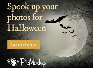 Spook Up Your Photos for Halloween – Get a FREE 7 Day PicMonkey Trial!