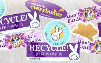 FREE Annie's Organic Stickers