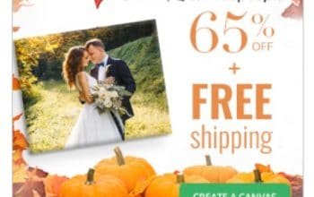 Holiday Gift Idea: 65% off all Canvases + FREE SHIPPING!