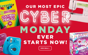 Michaels: Epic Cyber Monday Deals! 30% Off Entire Online Order + Free Shipping (No Minimum)!