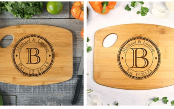 Family Circle Handle Cutting Board – Was $24.99 – Now $13.95 plus Shipping