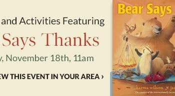 FREE Storytime & Activities at Barnes & Noble on November 18th!
