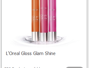 FREE L'Oreal Glam Shine Lip Gloss (sign up now!)