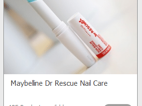 FREE Maybelline Dr Rescue Nail Care (sign up now!)
