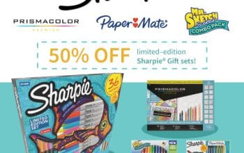 50% off Limited-Edition Sharpie Gift Sets