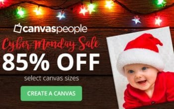 (Still Available) Cyber Monday Sale: 85% off Canvas Prints!