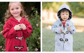 Was $29.99 – Now $18.99 – Kids' Toggle Clasp Sweatshirt Jackets