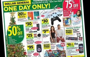 Dollar General Black Friday Ad 2017