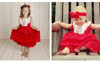 Joy, Love, Peace Dress w/ Free Matching Bloomer – Was $49.99 – Ships for $22.98!
