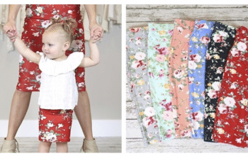 Adult/Child Floral Skirts – Was $22.99 – Ships for $13.98!
