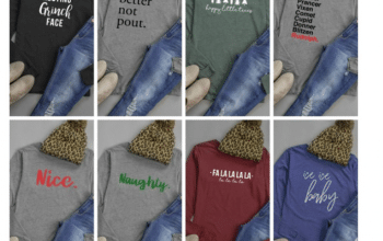2 for Tuesday  – 2 Holiday Tees for $30 (just $15 each) + FREE SHIPPING (11/14 Only)