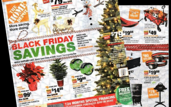Home Depot Black Friday Ad 2017
