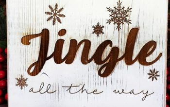 Rustic Christmas Signs | 14 Styles | Free Shipping – Was $24.99 – Now $11.99