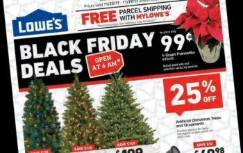 Lowe's Black Friday Ad 2017