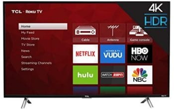 Amazon: TCL 43-Inch 4K Ultra HD Roku Smart LED TV only $299.99!