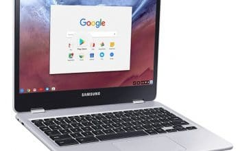 Amazon: Samsung Chromebook Plus Convertible Touch Laptop only $349!