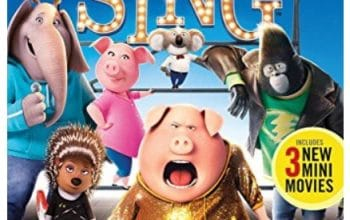 Amazon: Sing DVD + Blu-ray only $6!