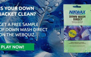 FREE Nikwax Down Wash Sample