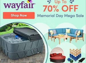 Wayfair: 10% off Coupon Code + Save up to 70% off!