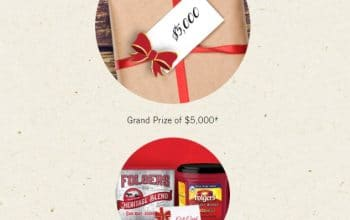 Folgers Warm Up the Holidays Sweepstakes (Ends 12/15)