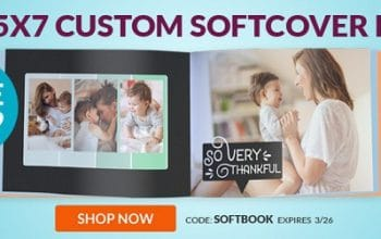 5×7 Custom Softcover Photo Book Only $3.99 Shipped! (reg $12.99) Ends 3/26