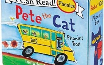 Pete the Cat Phonics 12-Mini Book Box Set Only $6! (reg $12.99)