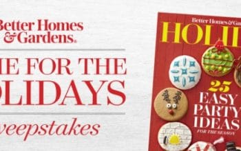 BH&G Home for the Holidays Sweepstakes (Ends 12/18)
