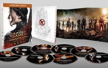 The Hunger Games Complete 4 Film Collection Only $13! (reg $29.96)