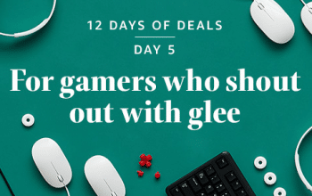 """Amazon 12 Days of Deals Day 5: """"For Gamers Who Shout Out with Glee!"""""""