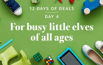 """Amazon 12 Days of Deals Day 4: """"For Busy Little Elves of All Ages!"""""""