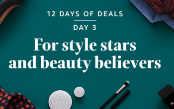 """Amazon 12 Days of Deals Day 3: """"For Style Stars & Beauty Believers!"""""""