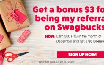 Get $3 When You Sign Up for Swagbucks in December!