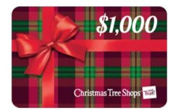 Christmas Tree Shops Instant Win Game and Sweepstakes (Ends 12/15)