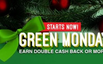 Swagbucks: Green Monday – Earn Double Cash Back or More!