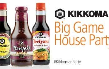Possible FREE Kikkoman Big Game House Party