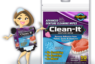 FREE Clean-It Advanced Denture Wipes Sample