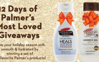 Palmer's '12 Days of Giveaways' Sweepstakes