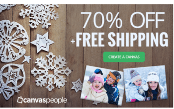 Valentine's Day Gift Idea: Canvas People – 70% Off and Free Shipping (Ends 1/31)