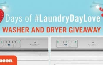 12 Days of Laundry Day Love Washer and Dryer Giveaway (12/24)